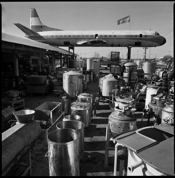 O avião por onde transportavam os presos políticos na Argentina.