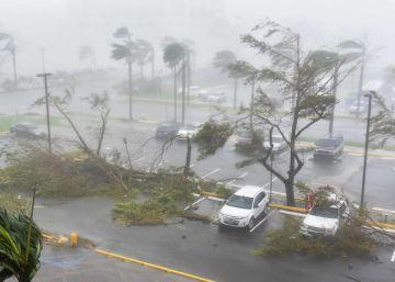 """O governador, Ricardo Rosselló, anuncia """"danos graves"""" e adverte sobre inundações com """"risco para a vida"""""""