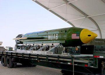 Pentágono divulga vídeo da explosão ocorrida na quinta-feira, com a bomba MOAB GBU-43