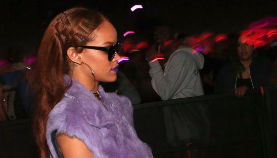 Rihanna, festival de Coachella na Califórnia.