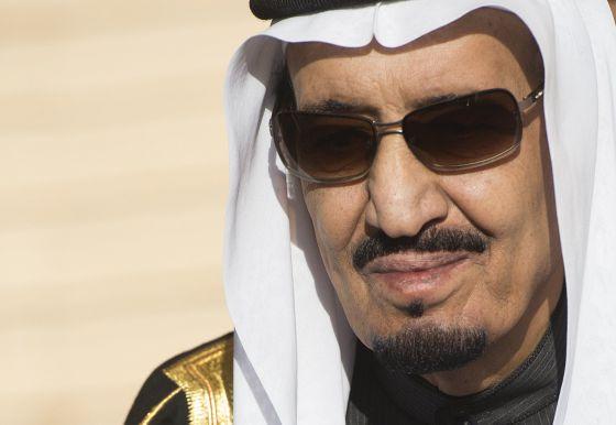 O novo rei saudita, Salman.