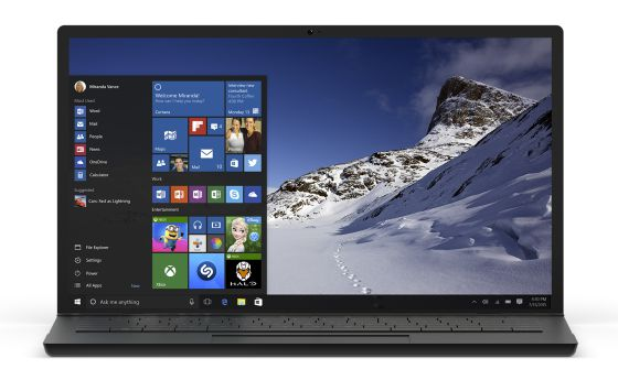 O novo sistema operacional poderá ser baixado gratuitamente em computadores que já tenham o Windows instalado.