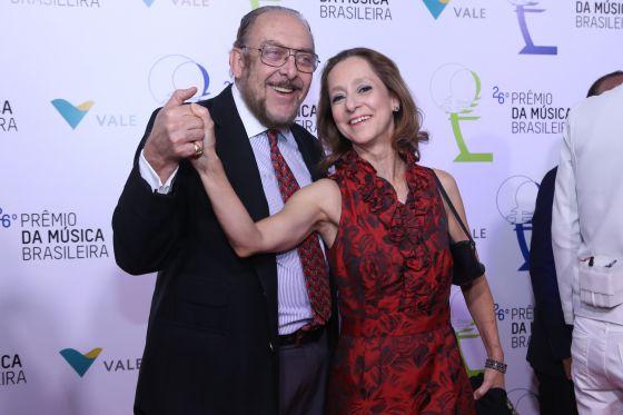 Miele e Ana Botafogo, neste ano, no Rio.