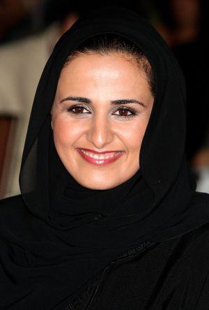 Mayassa bint Hamad al-Thani, filha do penúltimo emir do Catar.