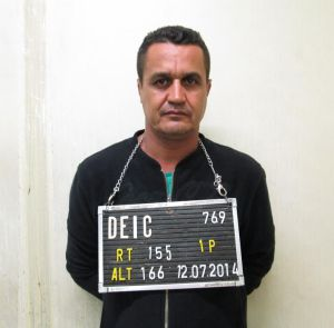 Amarildo Ribeiro da Silva, um dos presos na operação após seis meses de investigação.