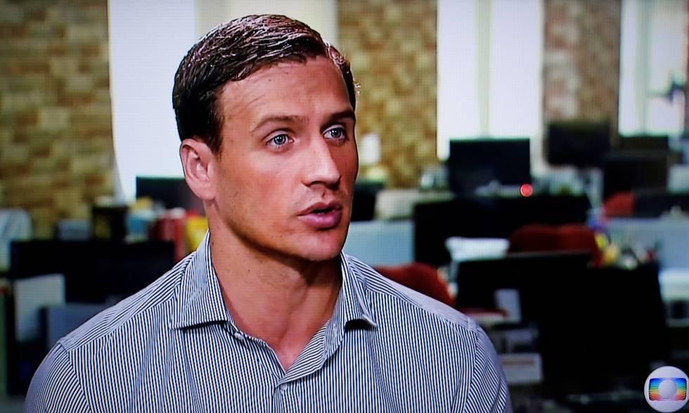 Lochte em entrevista a TV Globo.