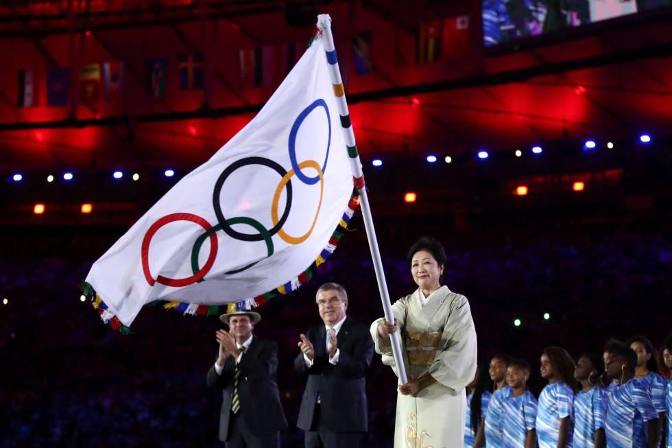 Cerimônia de encerramento da Rio 2016.
