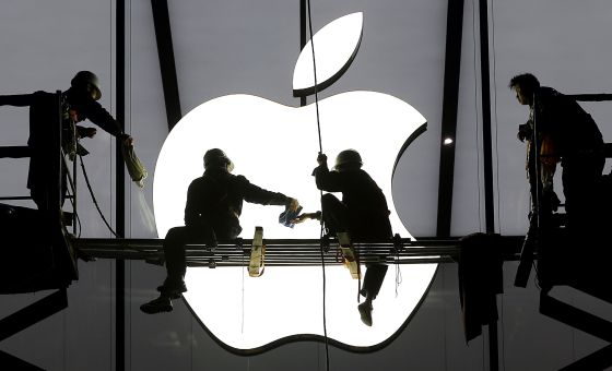 Loja da Apple em Hangzhou, China, em janeiro de 2014.
