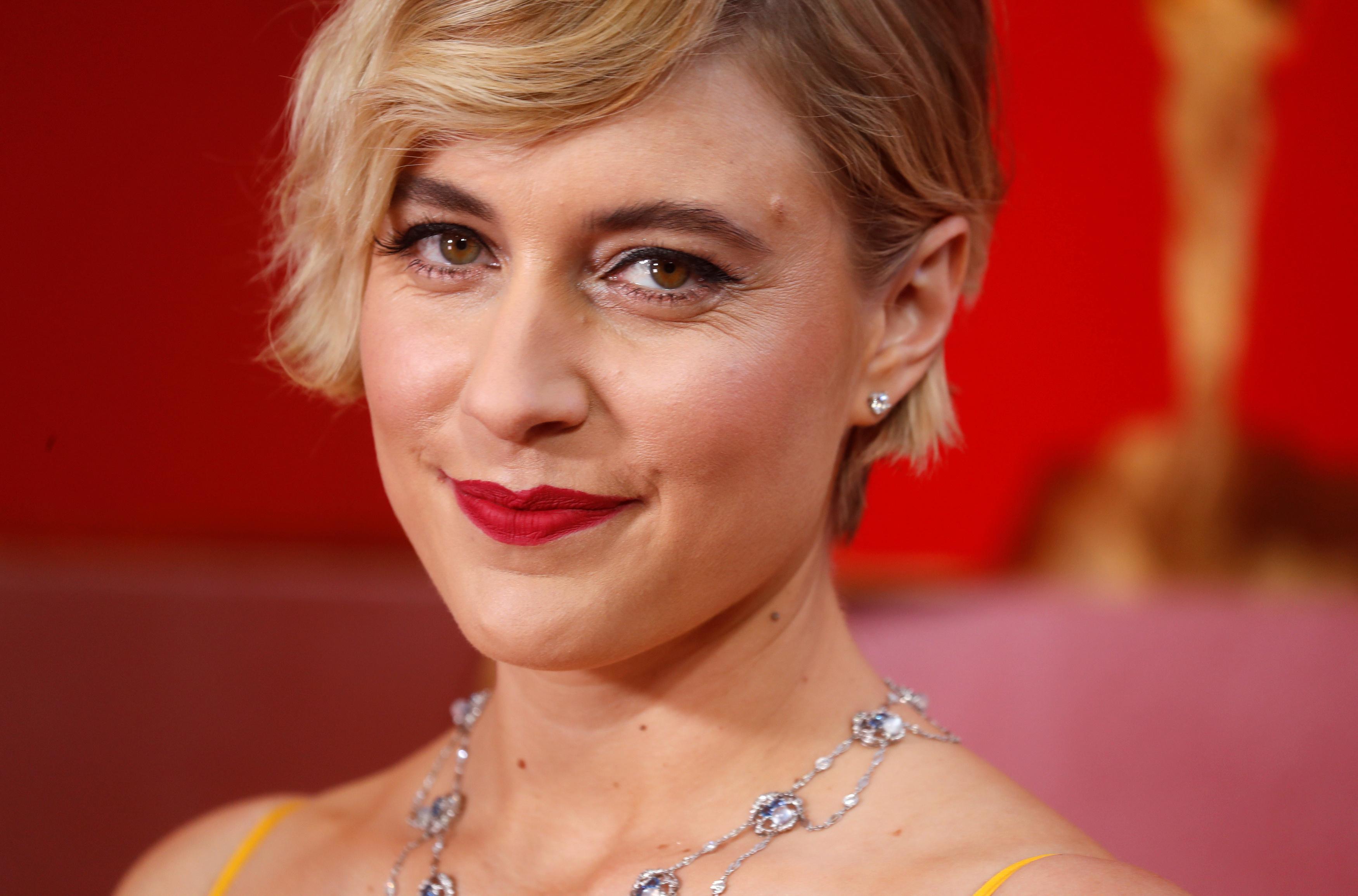 A diretora Greta Gerwig.