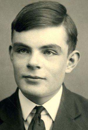 Alan Turing, em 1928.