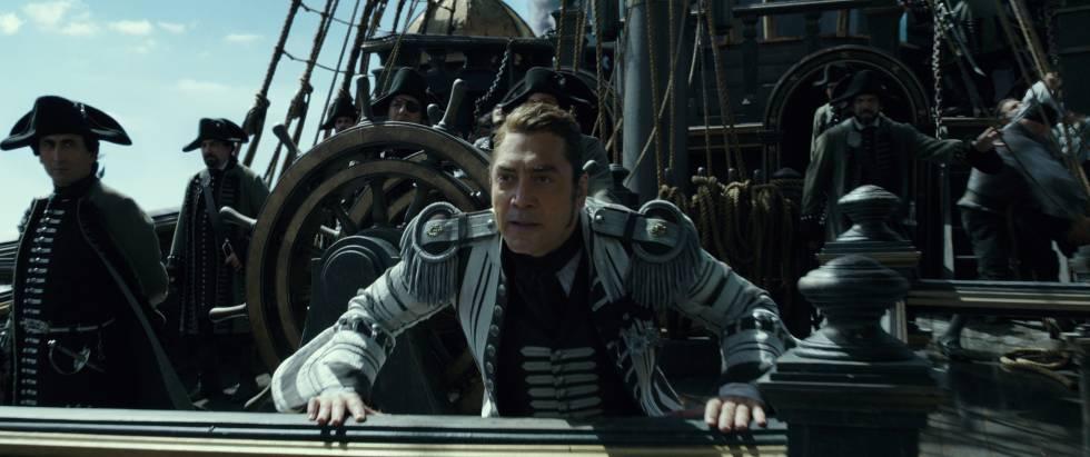 Javier Bardem em 'Piratas do Caribe'