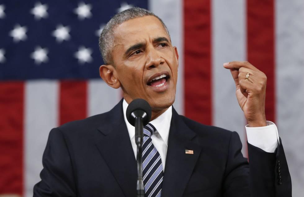 Barack Obama faz último discurso sobre o Estado da União no Congresso.