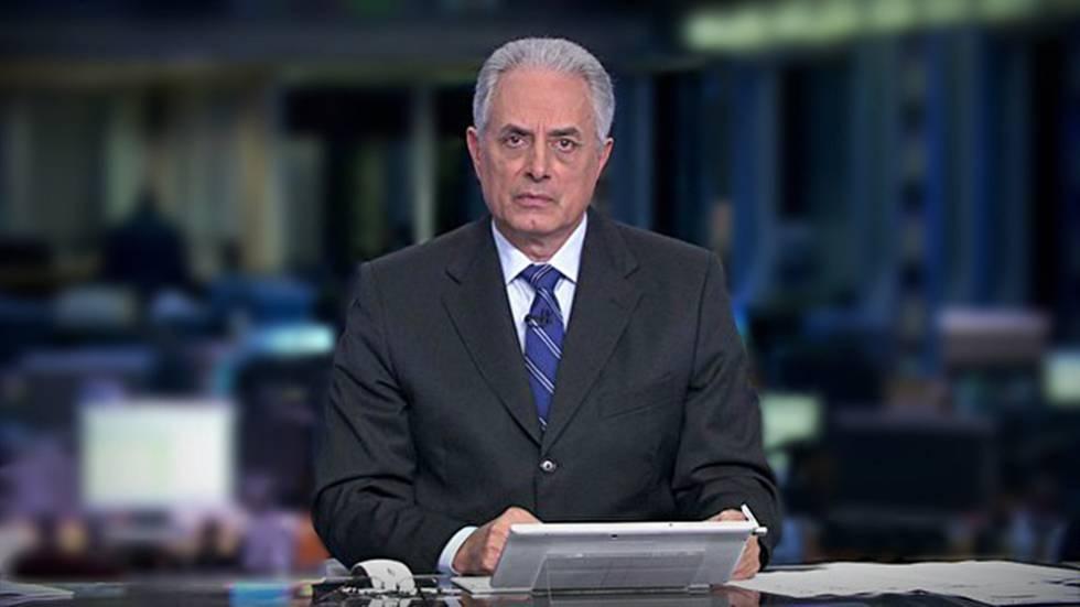 William Waack foi afastado de suas funções na Globo.
