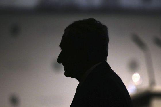 O presidente do Banco Central Europeu (BCE), Mario Draghi, participa de congresso do setor bancário em Frankfurt (Alemanha) em 20 de novembro.