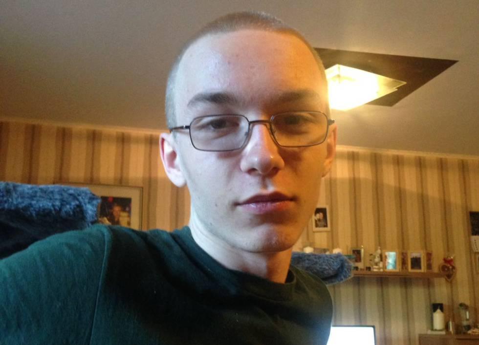 Marcel Hesse, de 19 anos, suspeito de matar um garoto de 9.