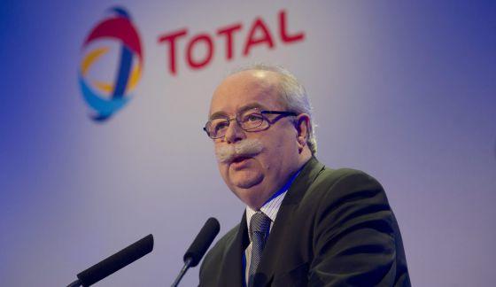 Christophe de Margerie, presidente da empresa petrolífera francesa Total.