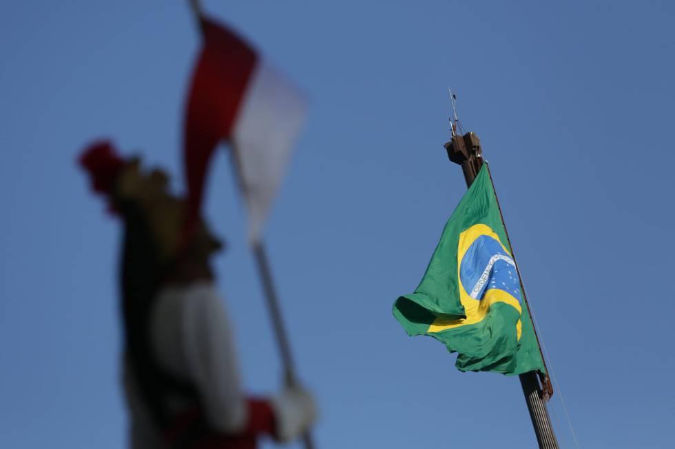 O Palácio do Planalto, em Brasília, nesta terça-feira.