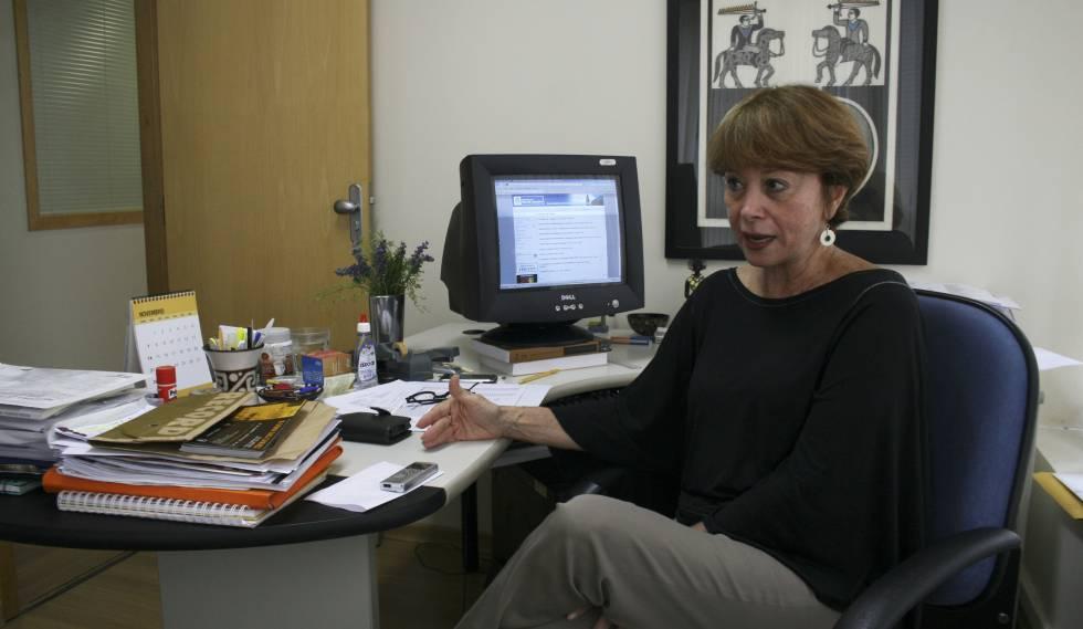A socióloga Julita Lemgruber, diretora do Centro de Estudos de Segurança e Cidadania da Universidade Cândido Mendes, no Rio de Janeiro