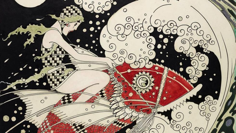 Ilustração de J. Carlos.
