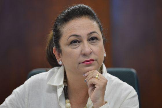 Katia Abreu, em entrevista no último dia 9, em Brasília.
