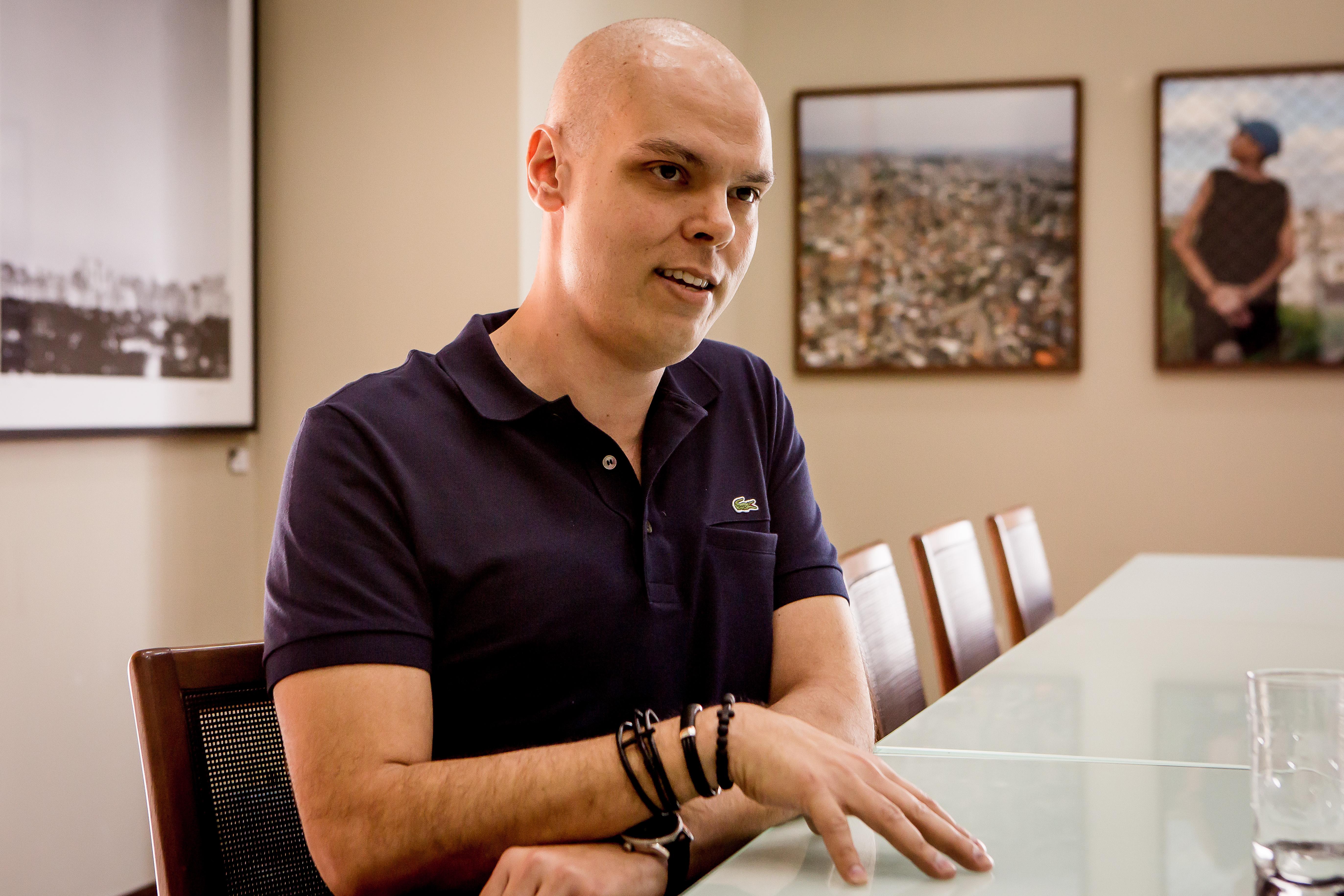 Bruno Covas na prefeitura de São Paulo.