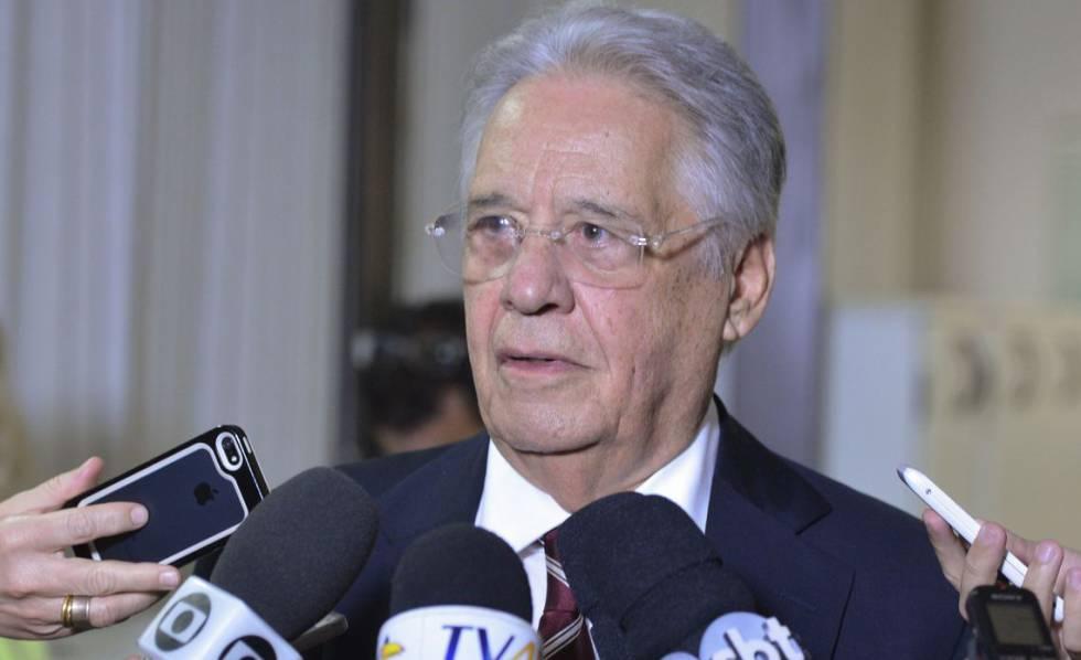 Ex-presidente Fernando Henrique Cardoso.