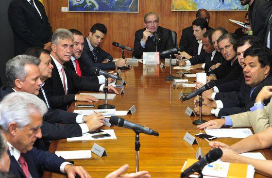 Reunião com líderes da Câmara nesta segunda.