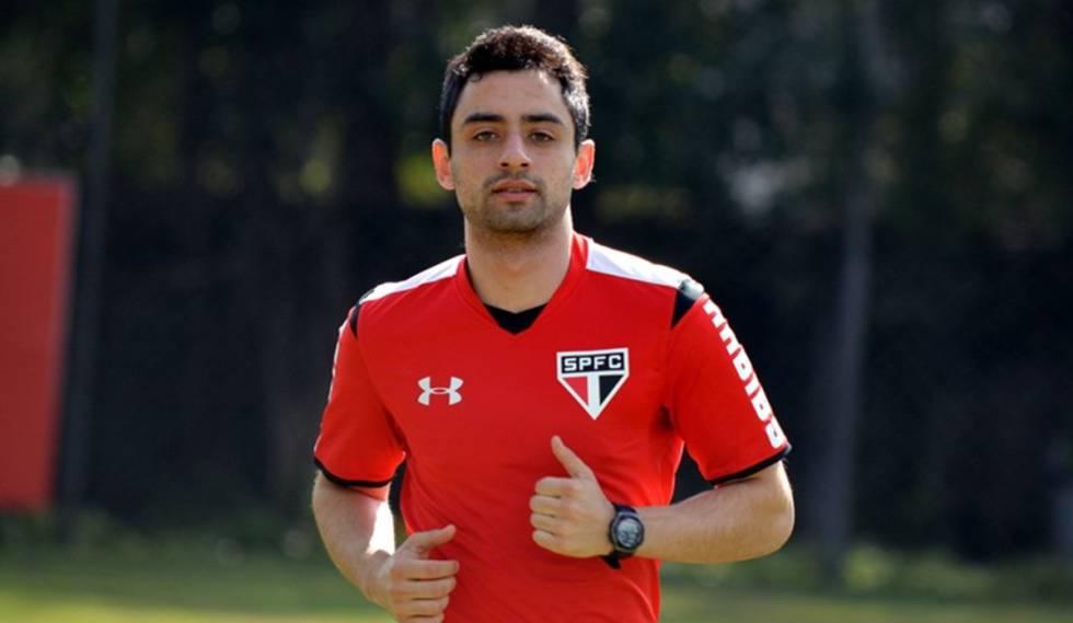 Daniel durante sua passagem pelo São Paulo, entre 2015 e 2016.