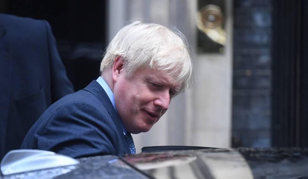 O primeiro-ministro britânico, Boris Johnson, nesta quarta-feira.