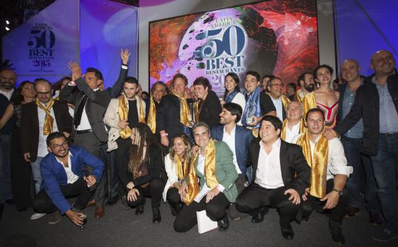 Os premiados do 50 Best.