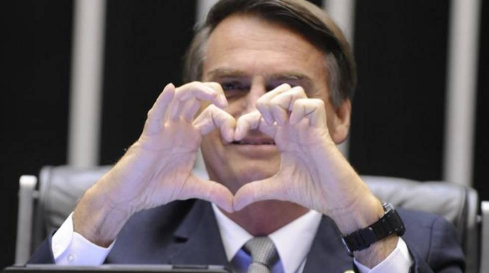 O deputado Jair Bolsonaro na Câmara em dezembro de 2014