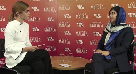 Emma Watson e Malala