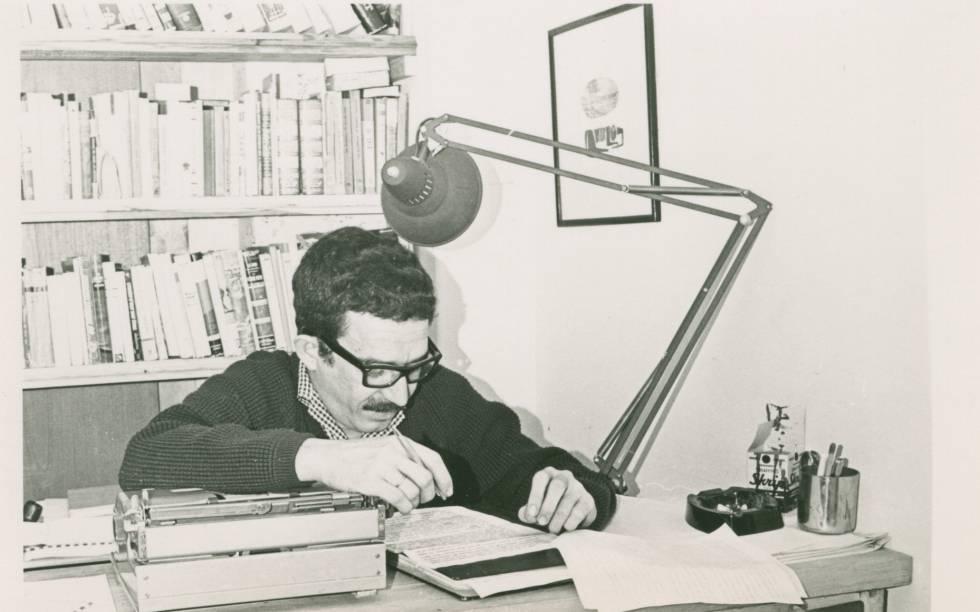 García Márquez, em outubro de 1965 quando escrevia 'Cem Anos de Solidão'.