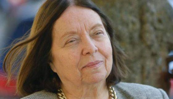 A escritora brasileira Nélida Piñon.