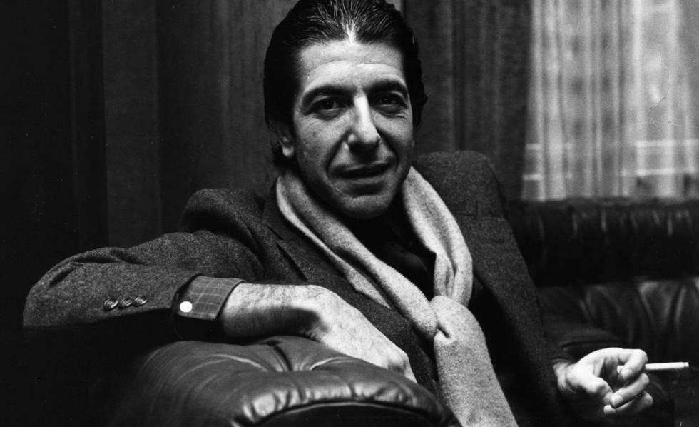 Leonard Cohen, que faleceu nesta quinta-feira.