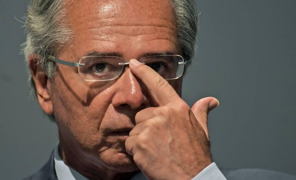 O ministro de Economia brasileiro, Paulo Guedes.