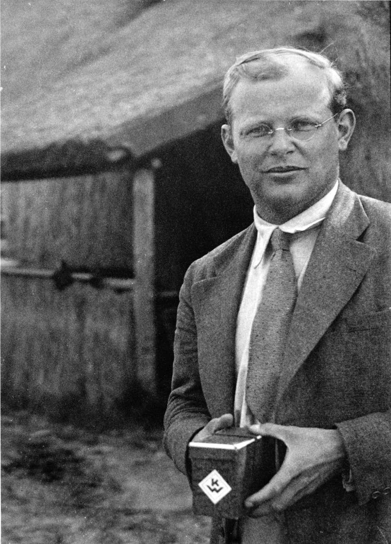 Dietrich Bonhoeffer, fotografado em 1935.