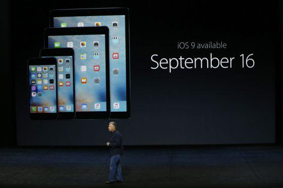 iOS 9 já está disponível para iPhone e iPad.