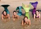 Susana Seuma, apaixonada por mergulho, ensina seus alunos a se mover no mar como seres mitológicos