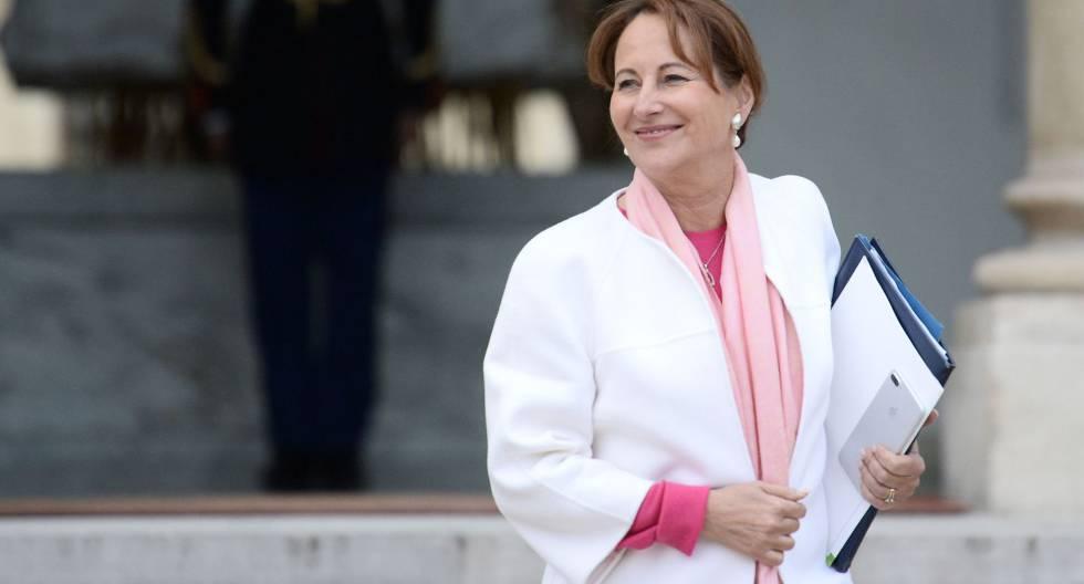 A ministra do Meio Ambiente, Ségolène Royal.