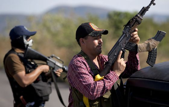 Autodefesas em Michoacán.