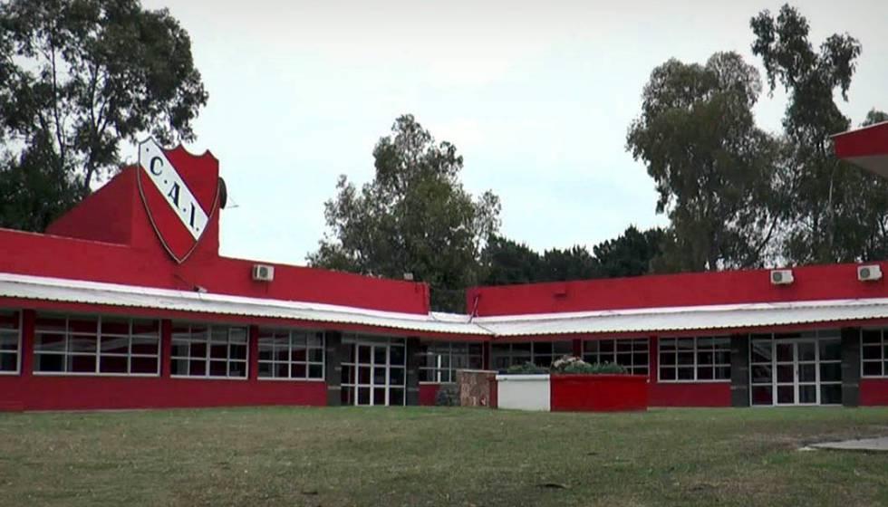 Alojamento das equipes de base do Independiente.