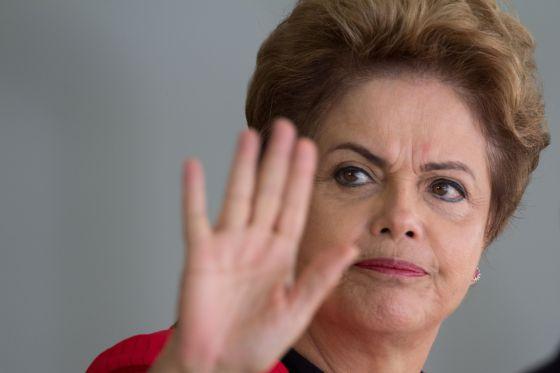 A presidenta Dilma Rousseff, na última sexta.