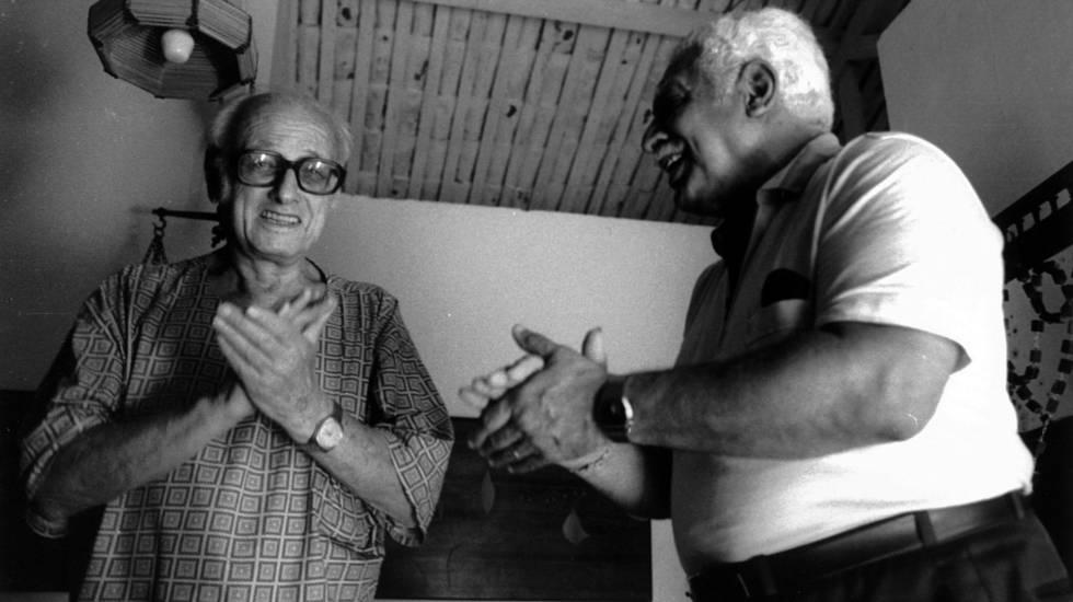 Pierre Verger e Dorival Caymmi (sem data)