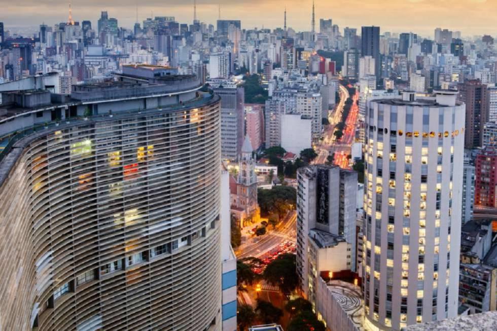 Cidades do sudeste, como São Paulo (foto), são as que mais recebem investimentos em inovação