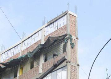 """Peru está no chamado """"Anel de Fogo do Pacífico"""", onde ocorre 80% da atividade sísmica mundial. As autoridades pediram a demolição do edifício"""