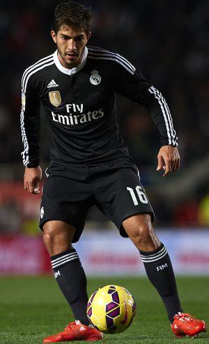 Lucas Silva, na partida contra o Elche.
