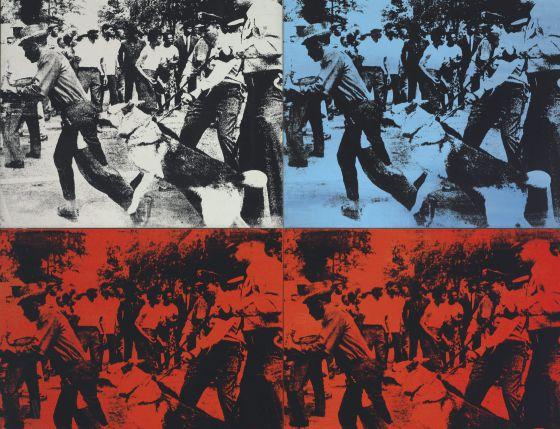 'Race Riot', de 1964, de Andy Warhol.