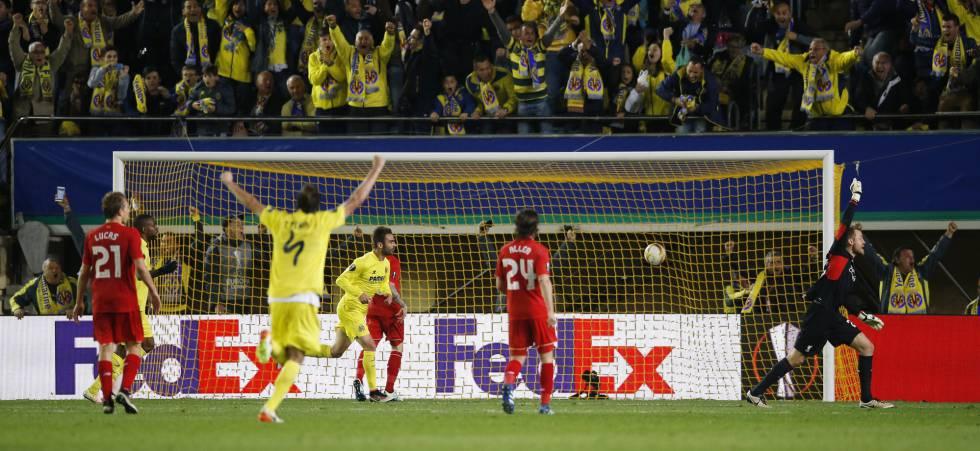 Gol do Villarreal no último minuto de jogo na Espanha.