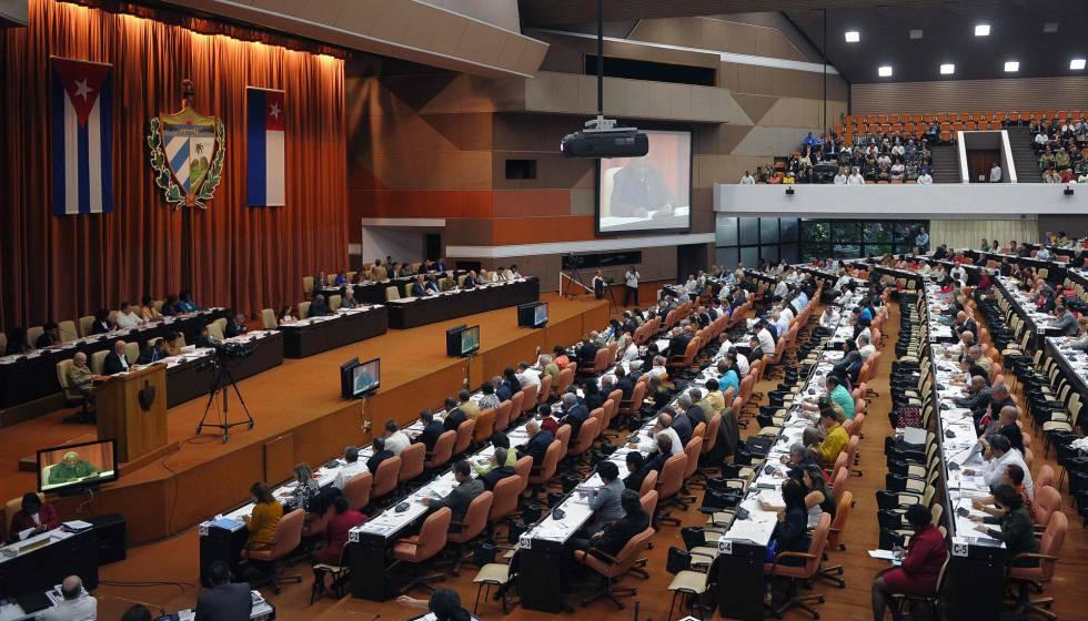Sessão da Assembleia Nacional, nesta sexta-feira em Havana.